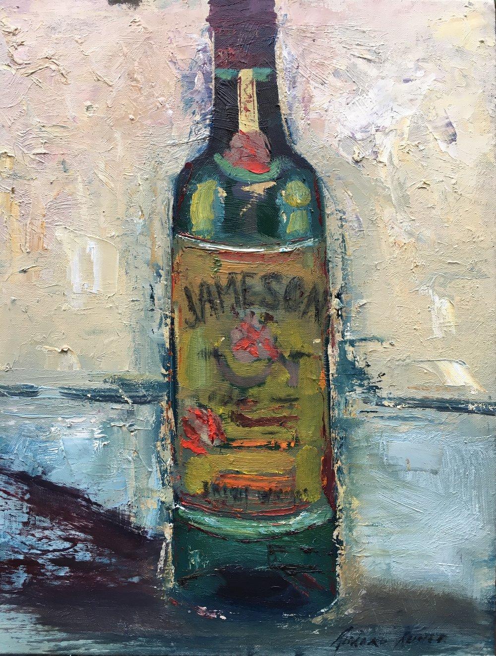 Jameson 18x24 oil canvas board.