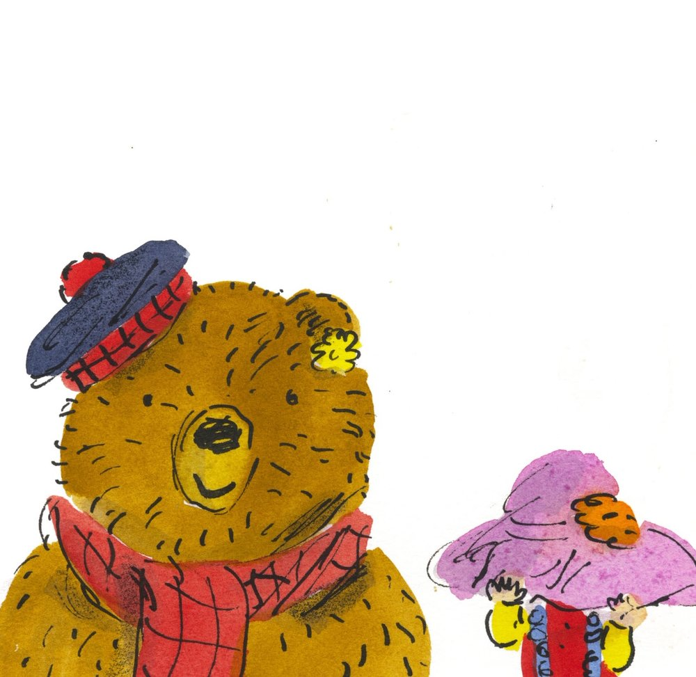 This is Bernard and Iris from 'How to Hide a Lion from Grandma'.