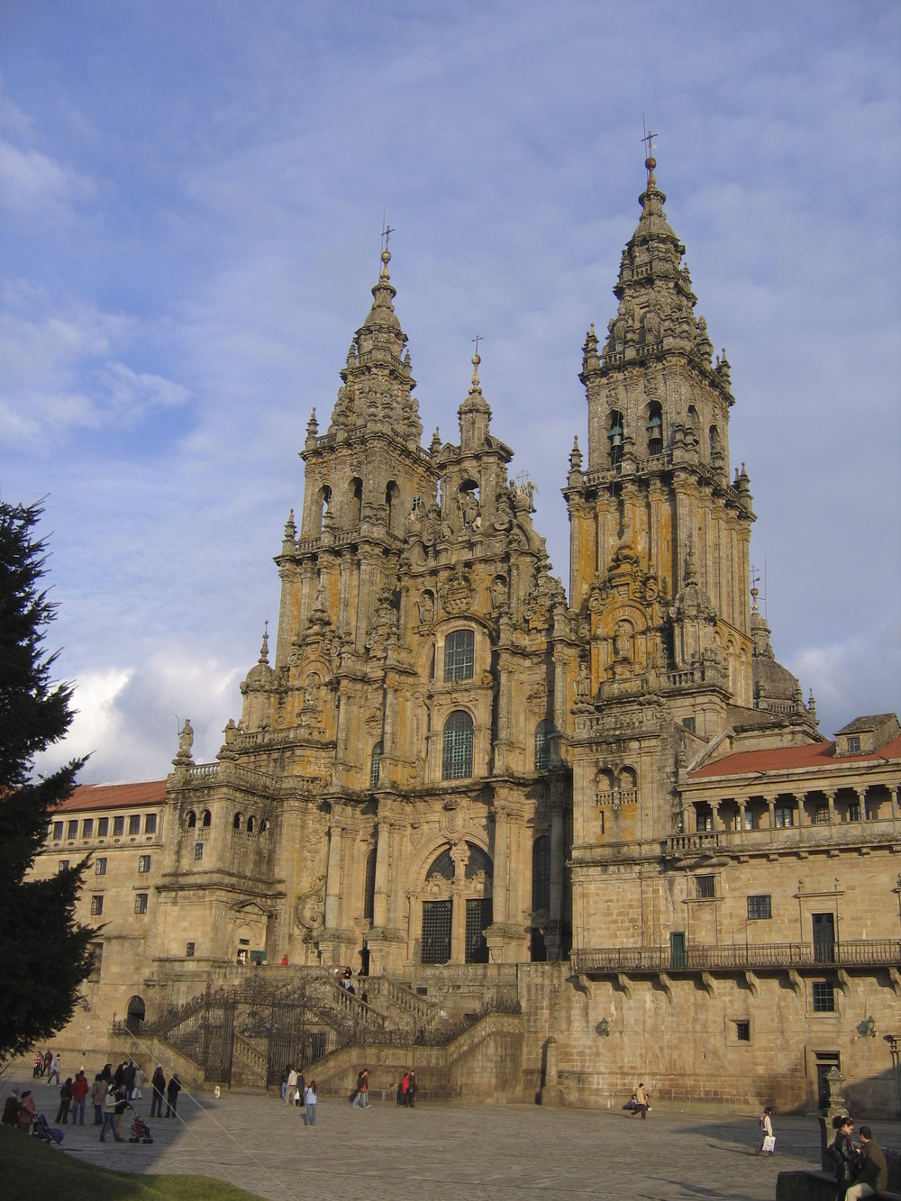 The Cathedral of Santiago de Compostela, Spain