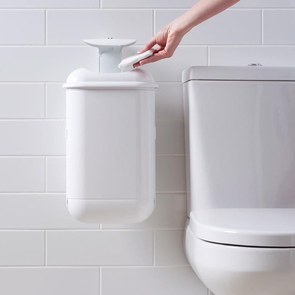 Pure concepts sanipod sanitary disposal introducing for Bathroom e pod mara