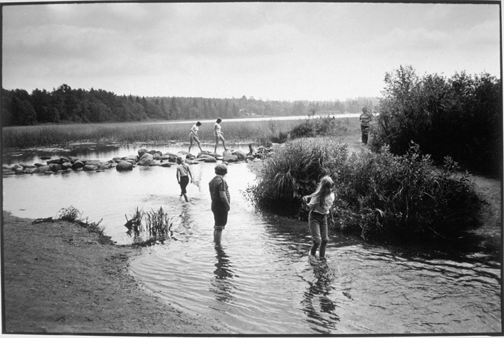 Lake Itasca, Minnesota, 1983 Early gelatin silver print 5.5x8.25 inches, 7x11 paper