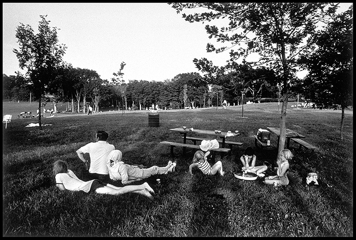 Lake Rebecca Park, Minnesota, 1981 Early gelatin silver print 5.5x8.25 inches, 7x11 paper