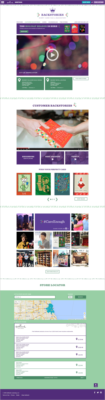 Hallmark Holiday Campaign Sites — chris ory