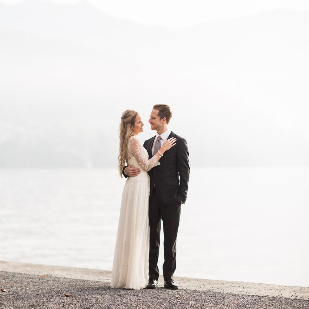 Maleana Hochzeitsfotos in Vitznau am Vierwaldstättersee