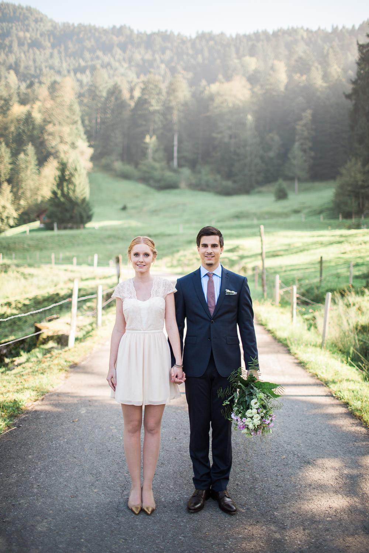 Maleana Hochzeitsreportage: Zivile Trauung in Zug