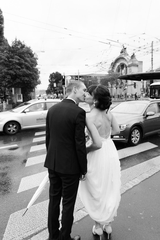 Maleana Hochzeitsreportage in schwarz-weiss in Luzern