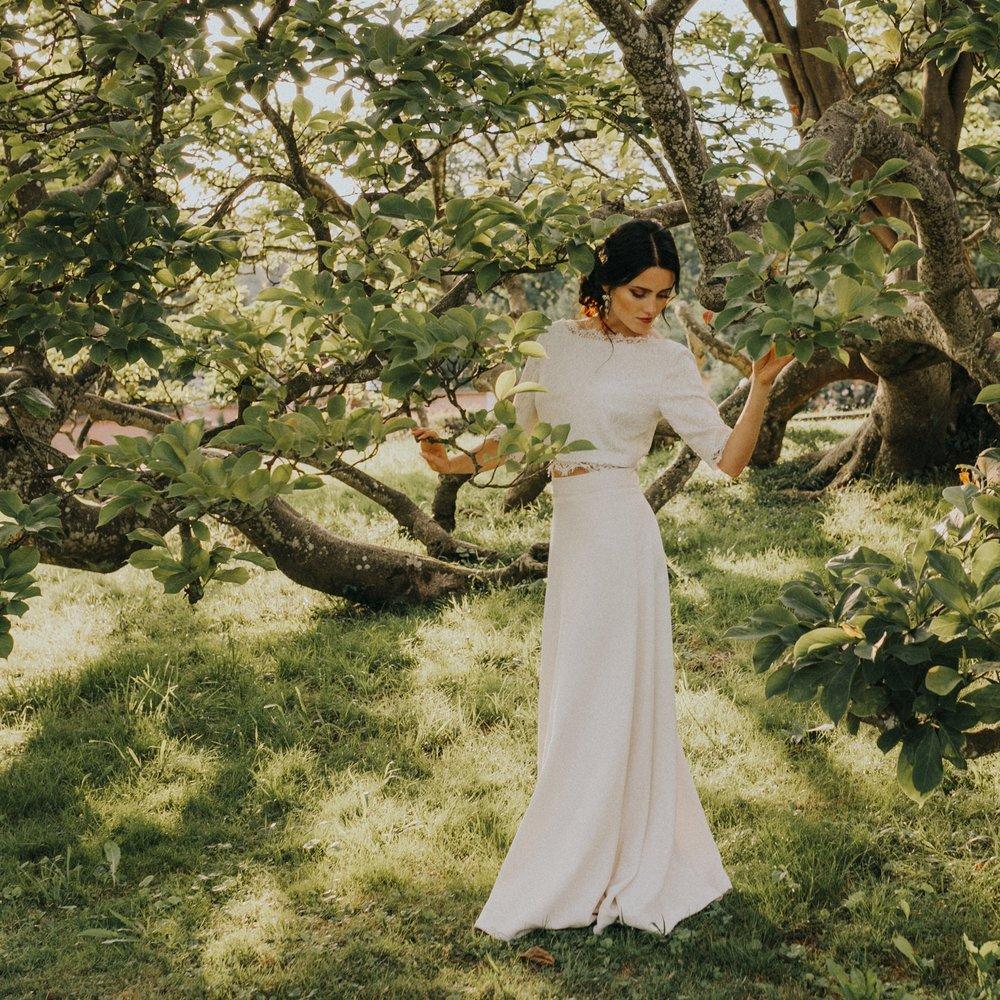 Maleana Vintage Hochzeitskleid Made in Switzerland