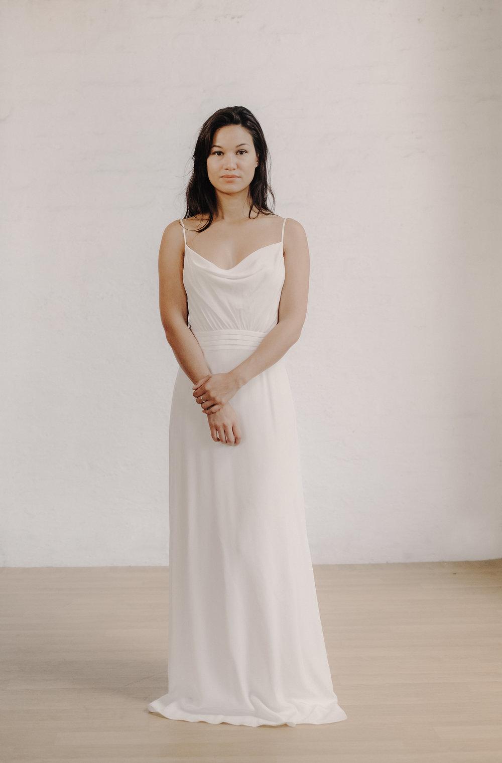 Boho Hochzeitskleid schlicht