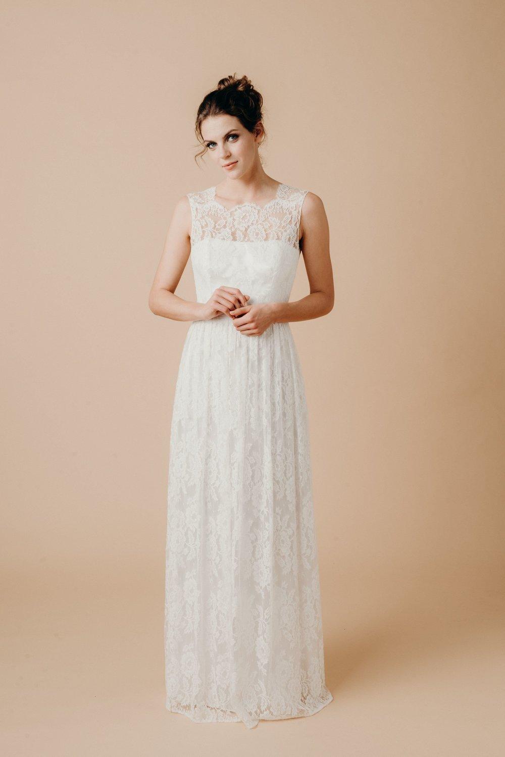 Boho Hochzeitskleid Spitze