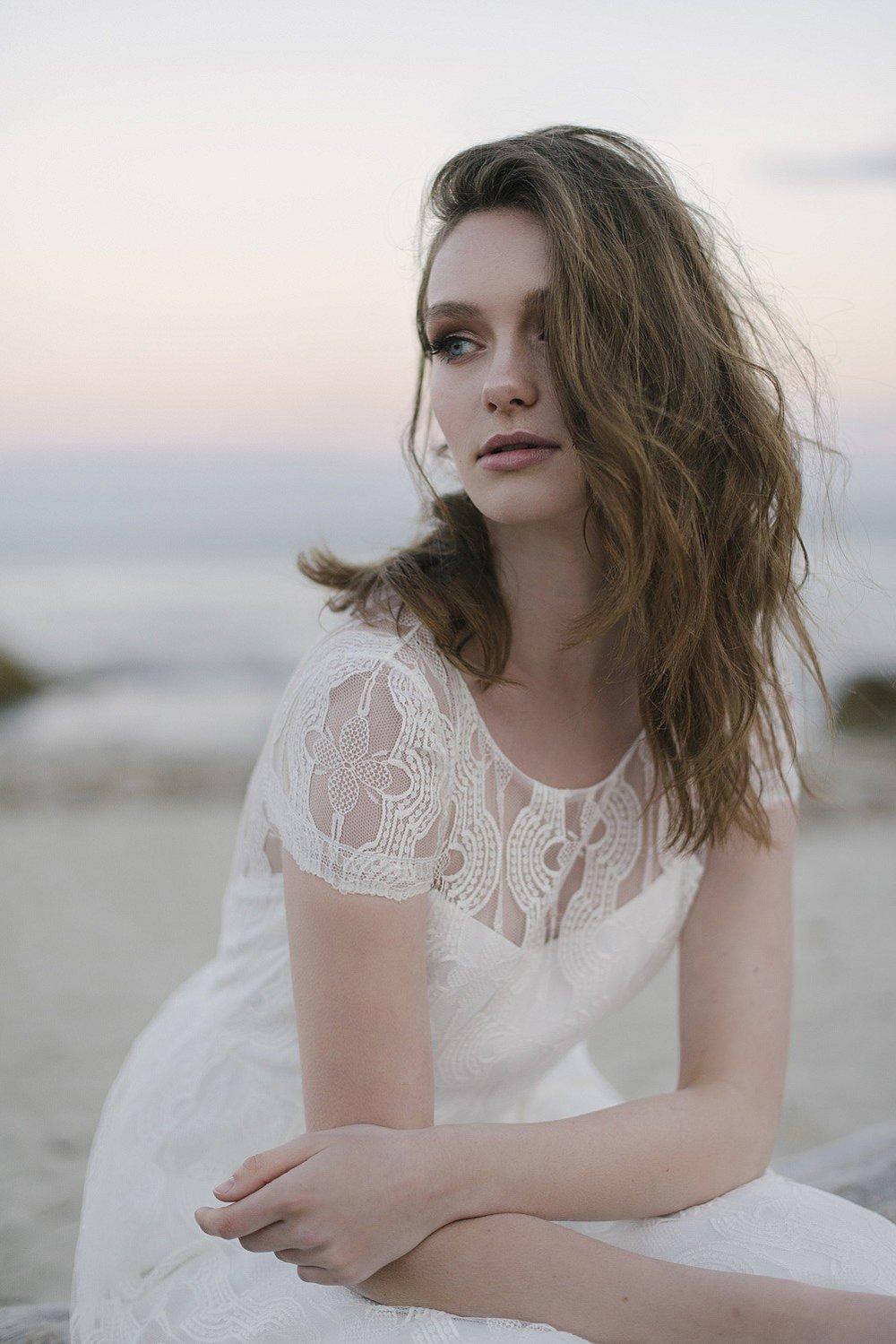 Romantisches Brautkleid Spitze