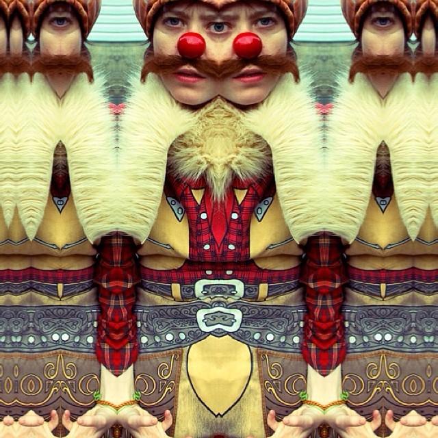Wiener Shaman, photo by Ryan Davis, image by Elling Lien.