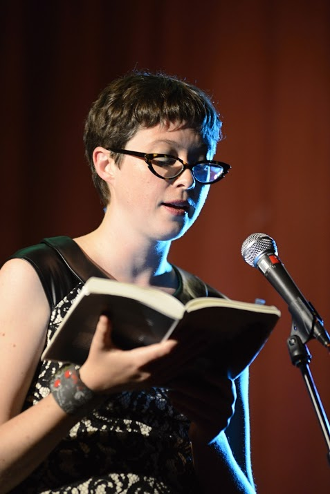Literary Death Match at Wordfest in Calgary, 2015.