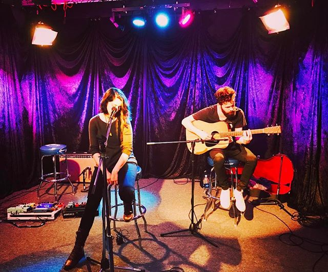 We just did a live video session at the Sound Stage at @radio947 today to promote for our live set at @cipsacramento on July 14th!  Look for this video on July 7th.  Hope to see you guys at the park!  #trophii #livemusic #band #duo #dreampop #indie #indiemusic #indiepop