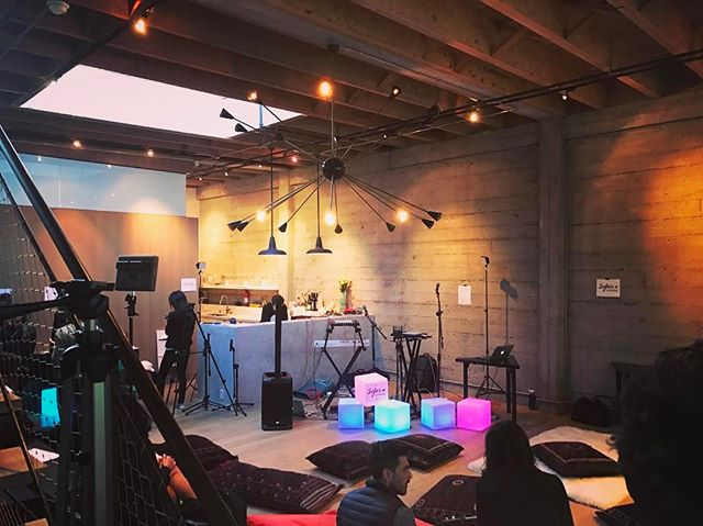 We had an awesome time performing at @sofarsounds  in San Francisco last night!  Truly wonderful event with lovely people and the most supportive audience a band could ask for! #sofarsounds #trophii #dreampop #livemusic #indiemusic #indie #indierock #indiepop #band #duo #liveperformance