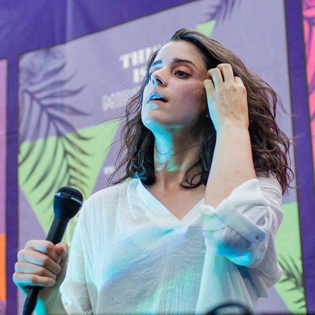 Fearless Leader. Photo credit: @micadew  #trophii #dreampop #livemusic #indierock #indiesinger #womenwhorock #indiepop #darkpop #onstage #sacramento #sacramentomusic