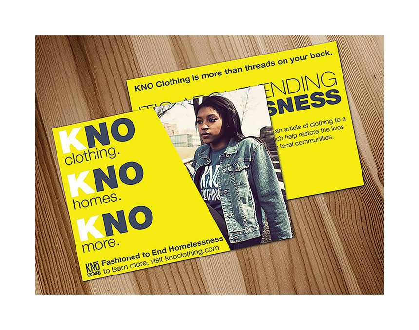KNO Clothing Postcard