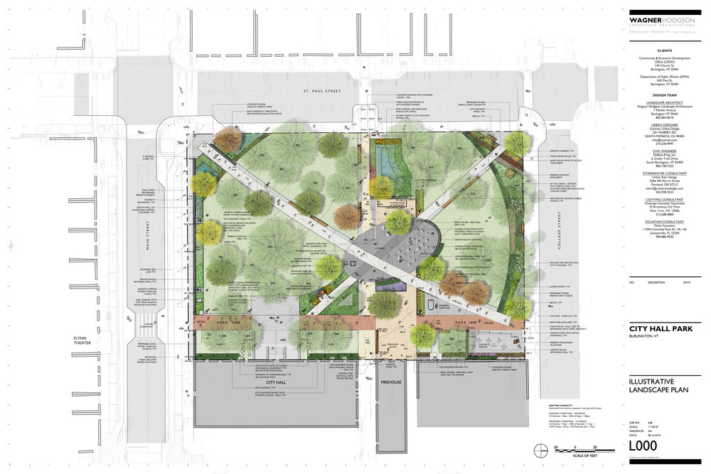 Updated 2019 City Hall Park plan ( Download PDF 7.7MB )
