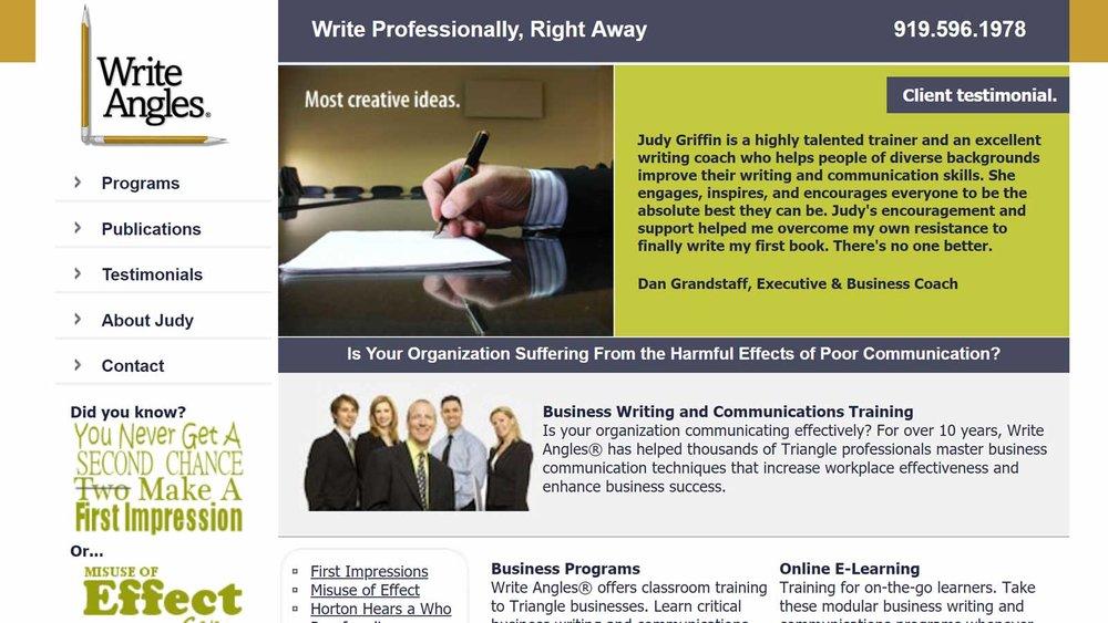 Judy's Original Website Design