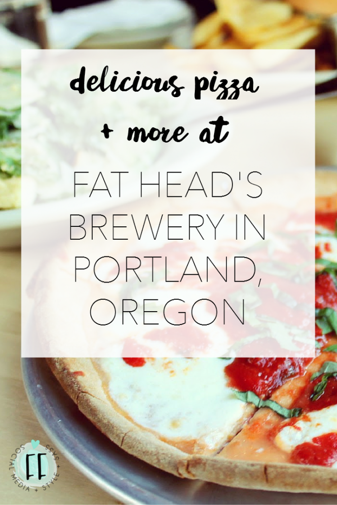 Delicious Pizza and More at Fat Head's Brewery in Portland, Oregon
