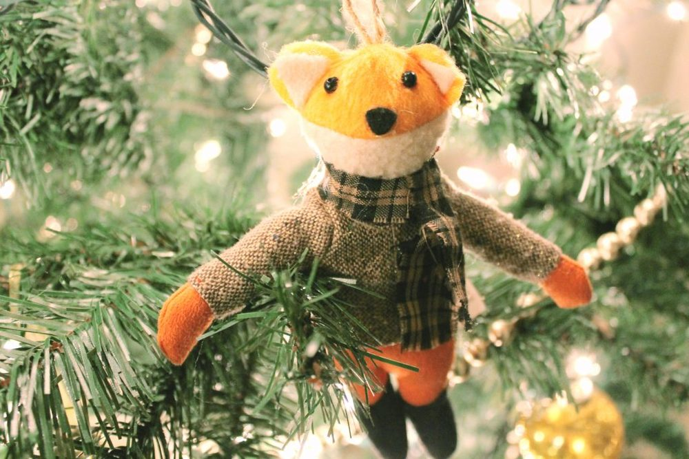 Christmas Tree Ornament Bear 2015