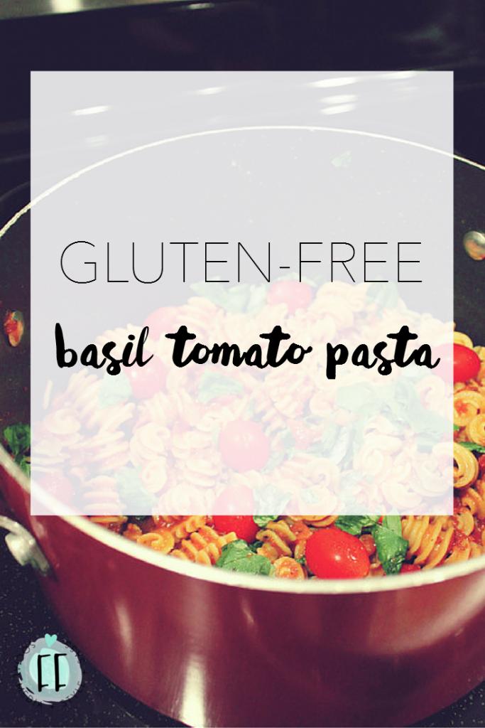 Gluten-Free Basil Tomato Pasta Recipe