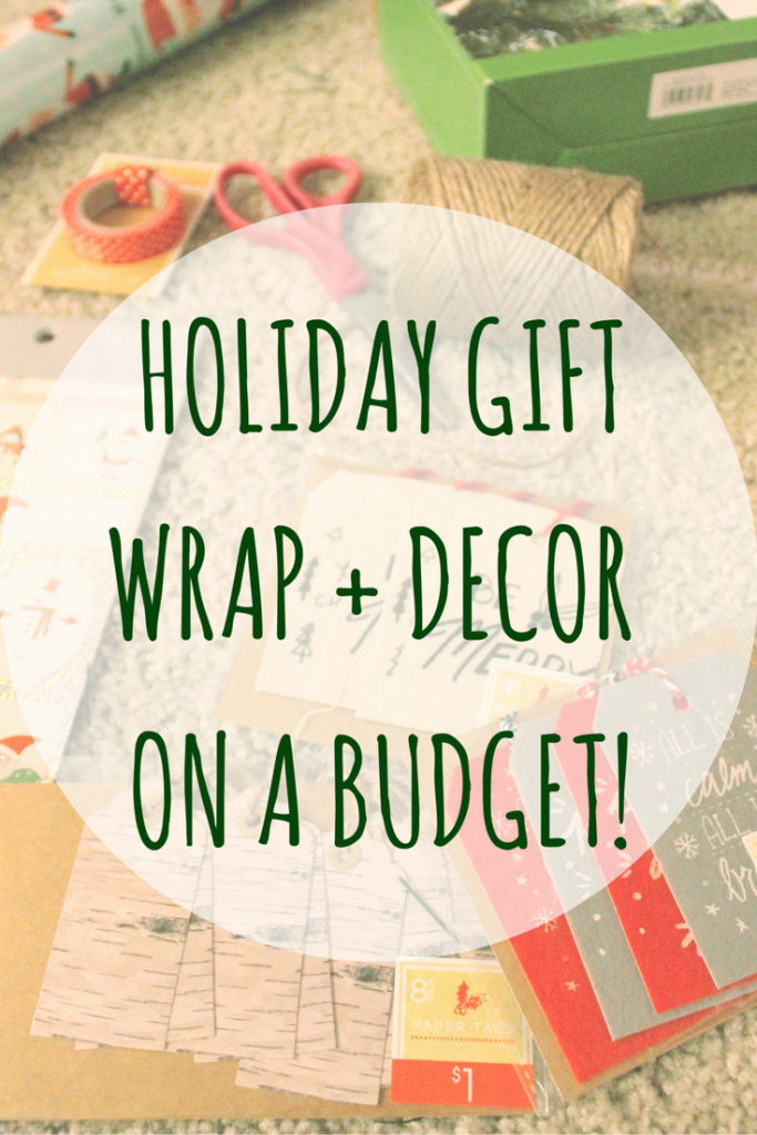 Holiday Gift Wrapping and Decorating on a Budget