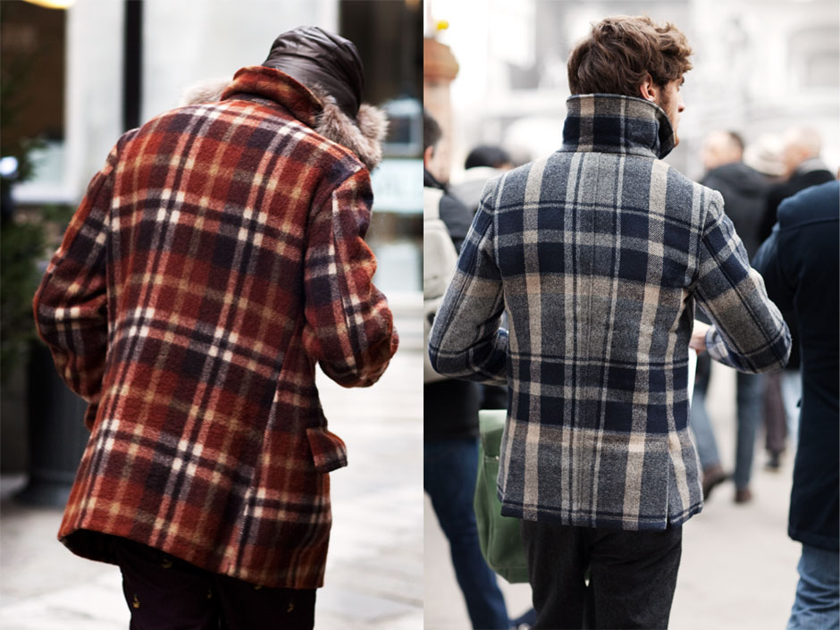 Plaid Jackets for Men