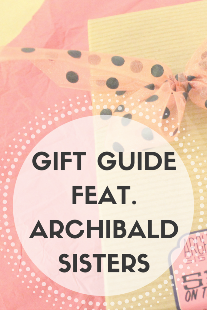 Gift Guide from Archibald Sisters in Olympia, Washington