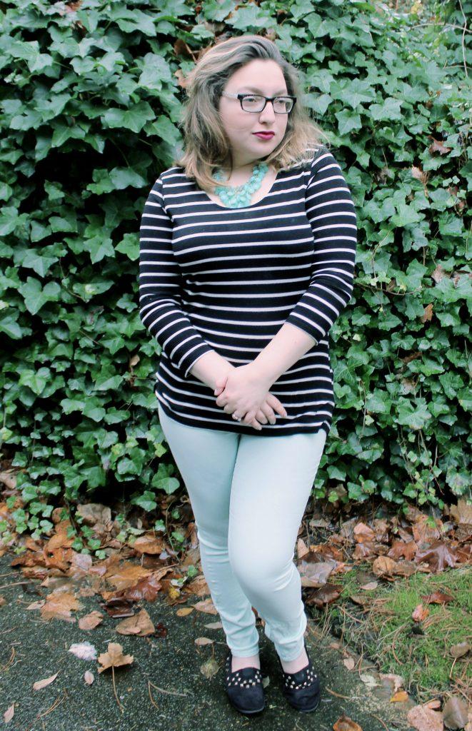 Simple Stripes Fashion Look OOTD