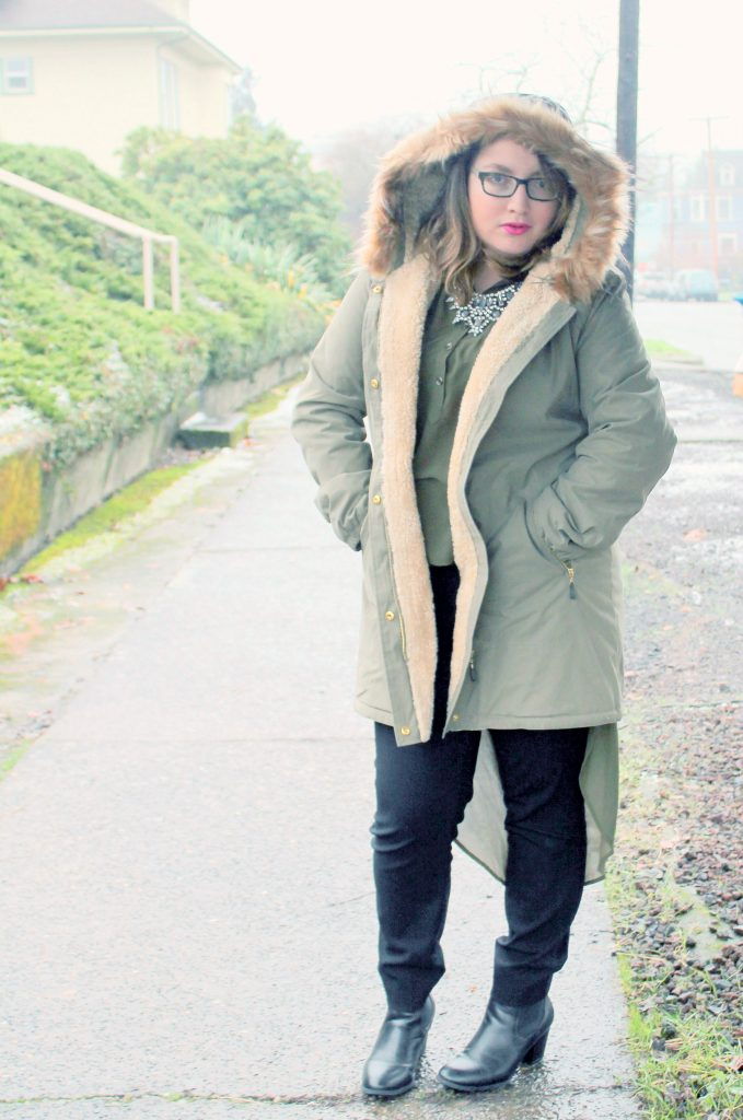 Parka Perfection Fashion OOTD 4