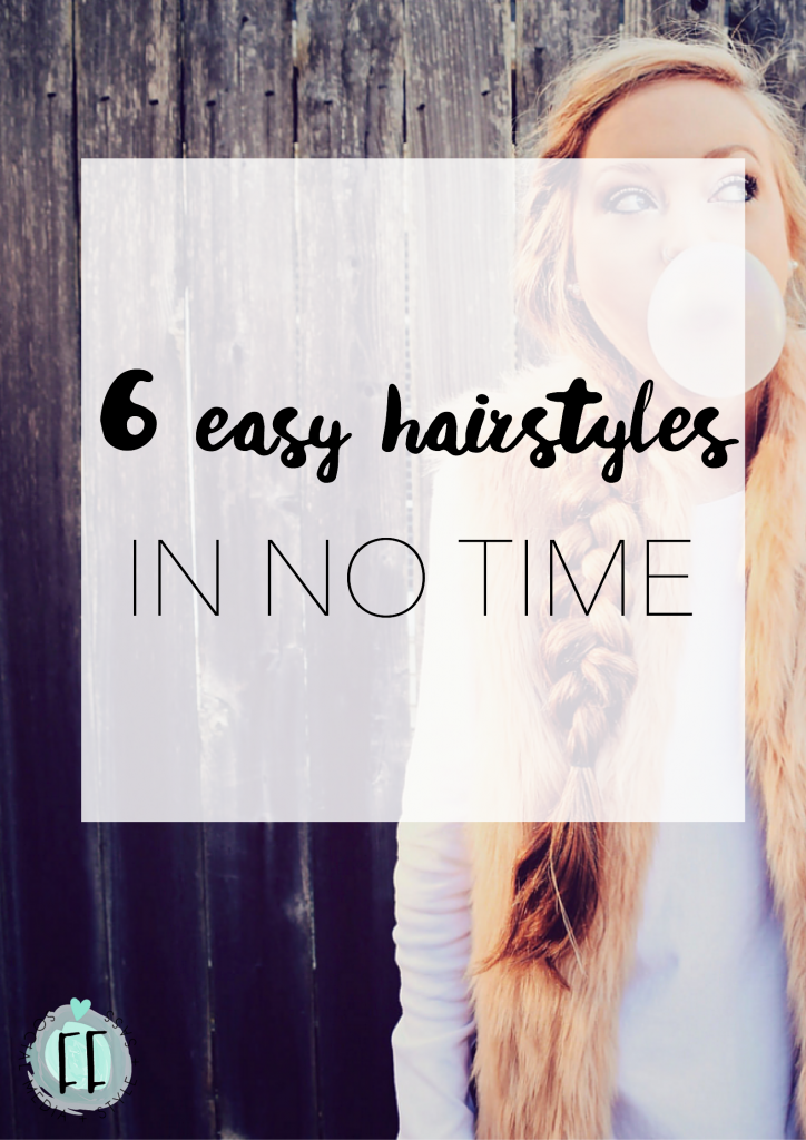 Beauty Hack - 6 Easy Hairstyles in No Time