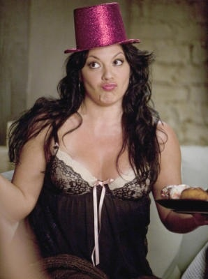 Callie Torres in Lingerie
