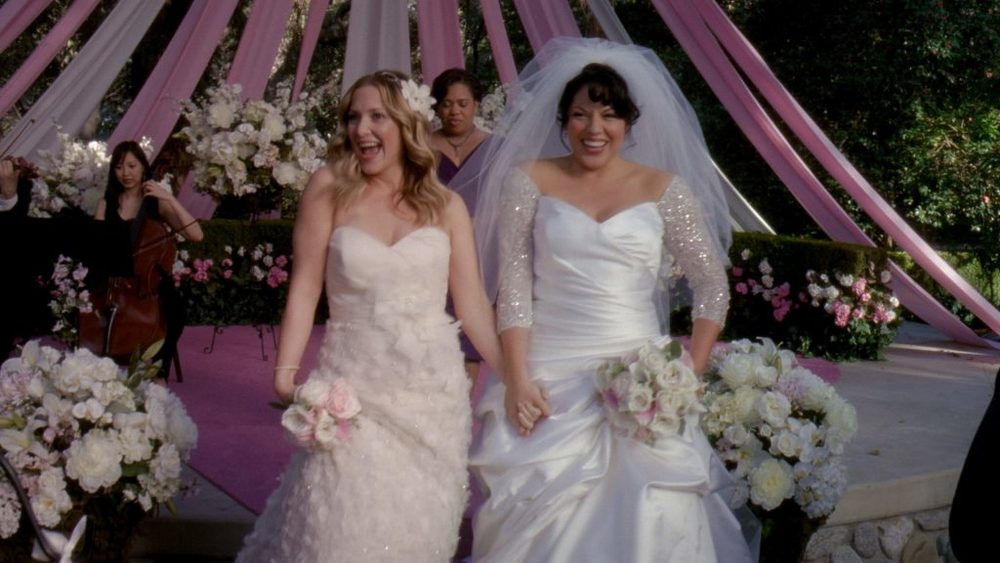 Callie and Arizona Calzona Wedding