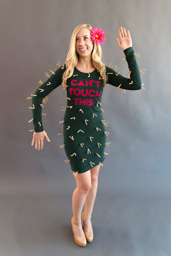 CANu0027T TOUCH THIS  CACTUS  sc 1 st  Fashionably Frank & 13 Cute and Creative Halloween Costume Ideas u2014 Fashionably Frank ...
