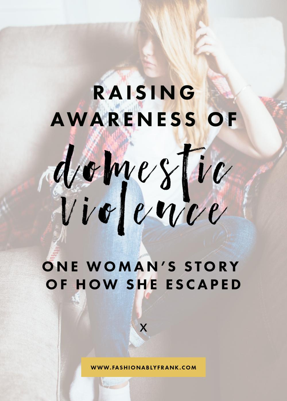 Raising Awareness of Domestic Violence