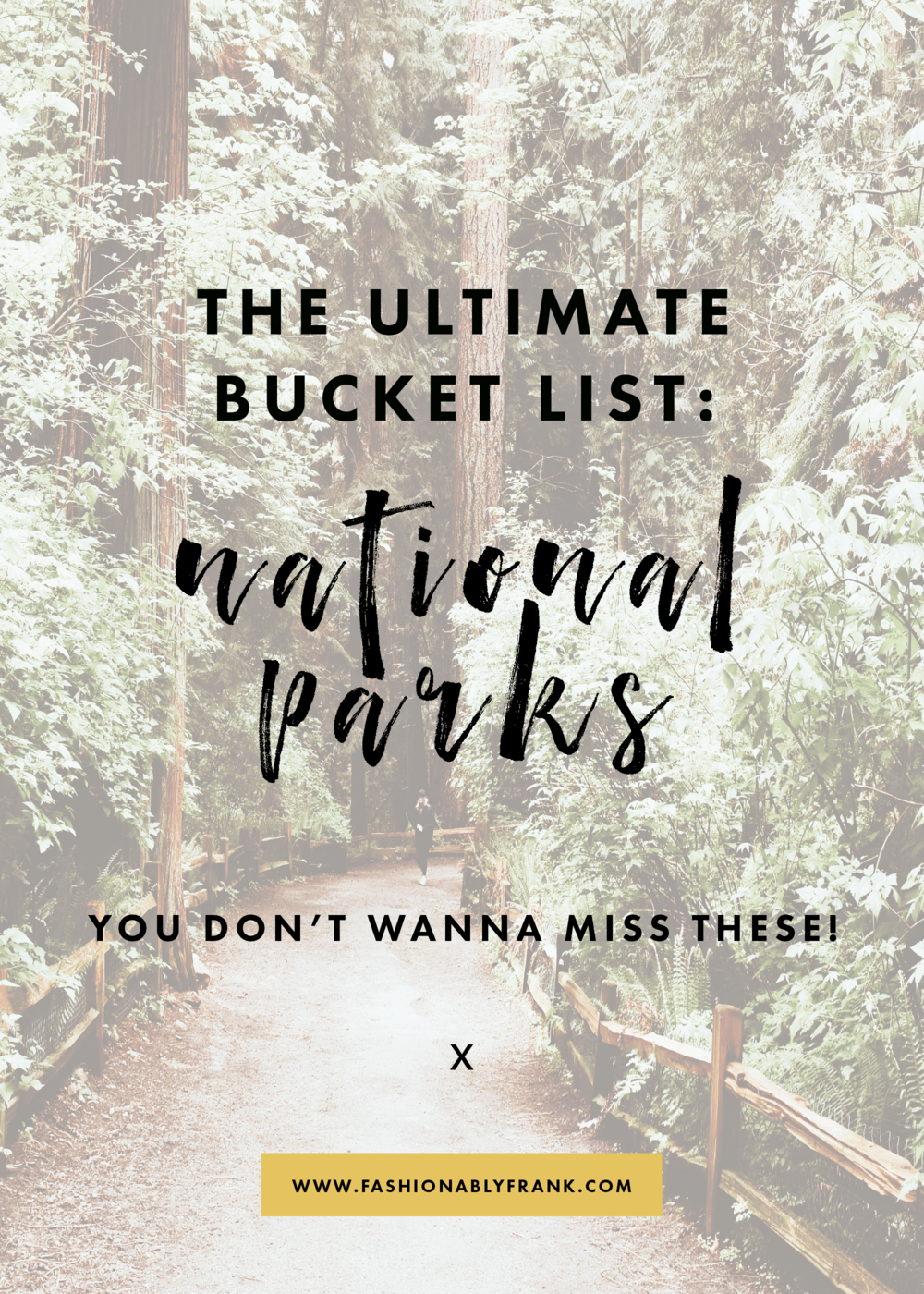 National Parks Bucket List