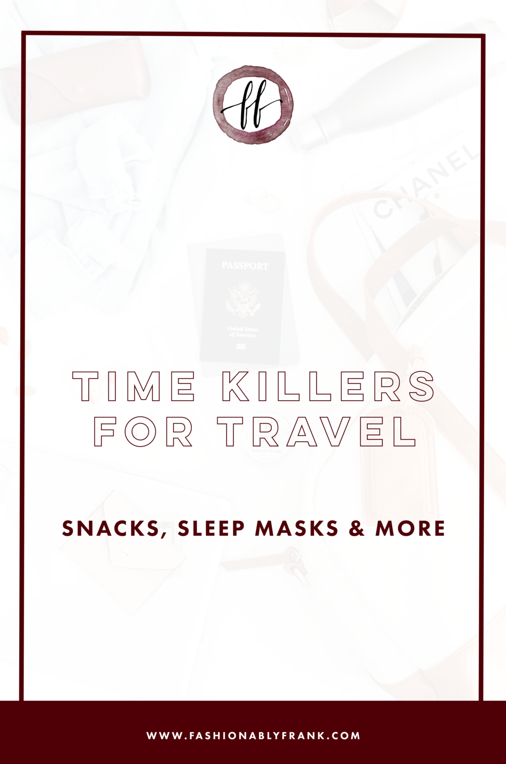 Time Killers for Travel