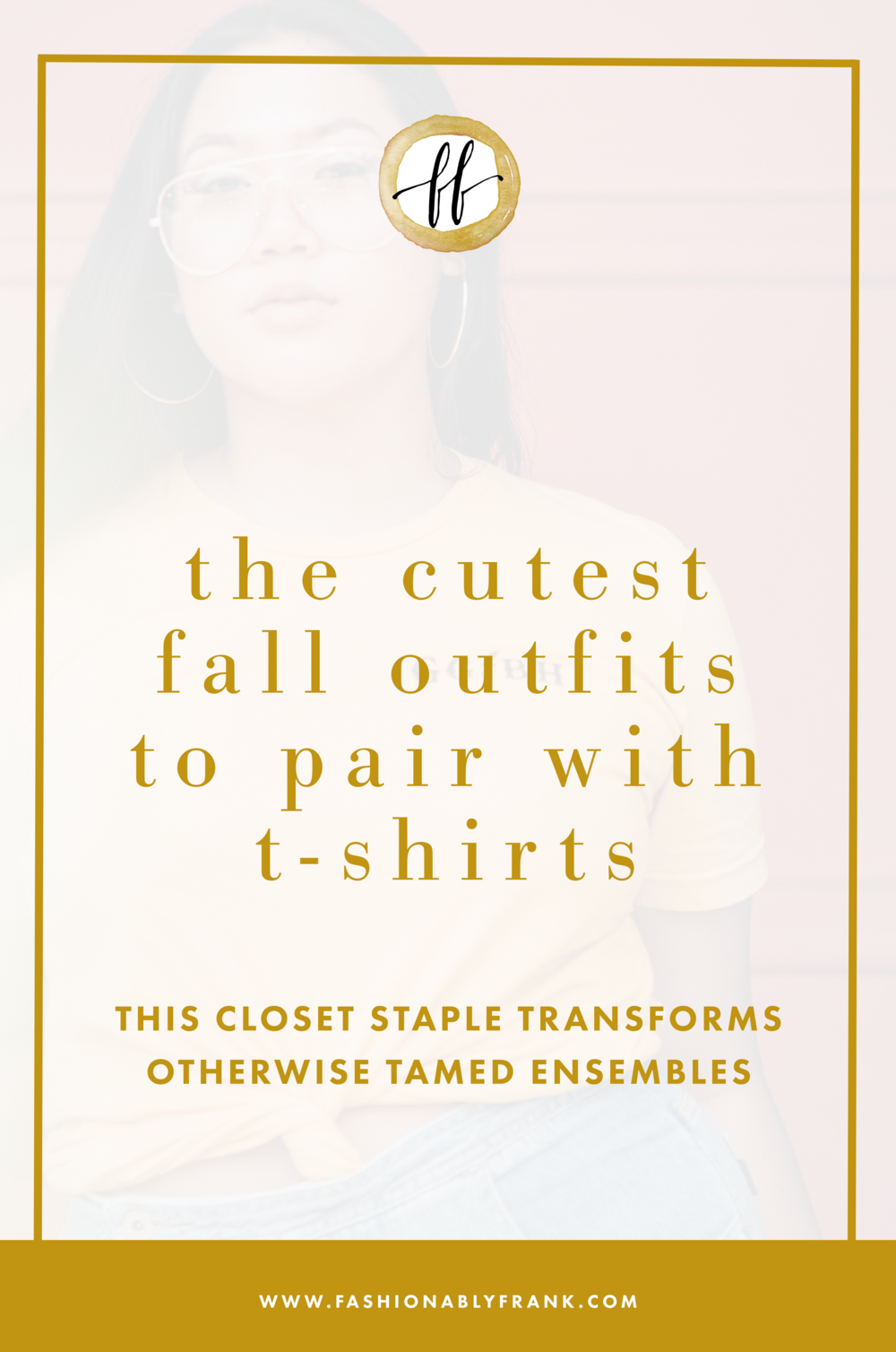 Fall Outfits to Wear with T-Shirts
