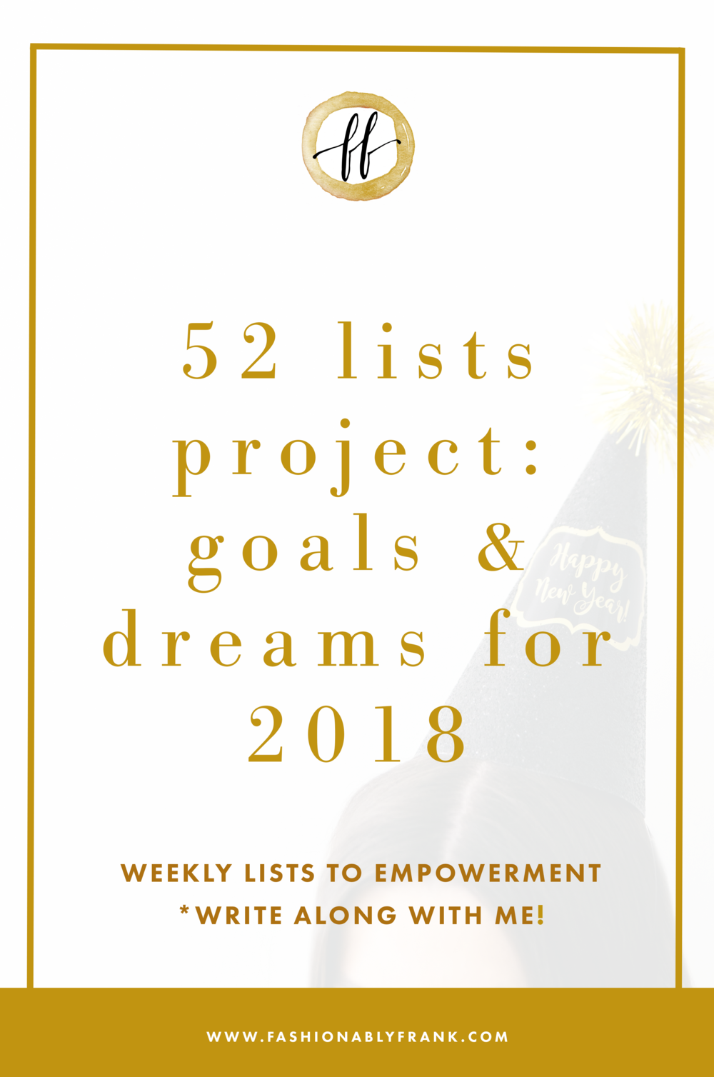 Goals and Dreams for 2018