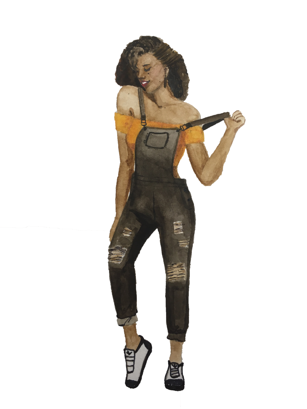 Outfit Ideas for Overalls