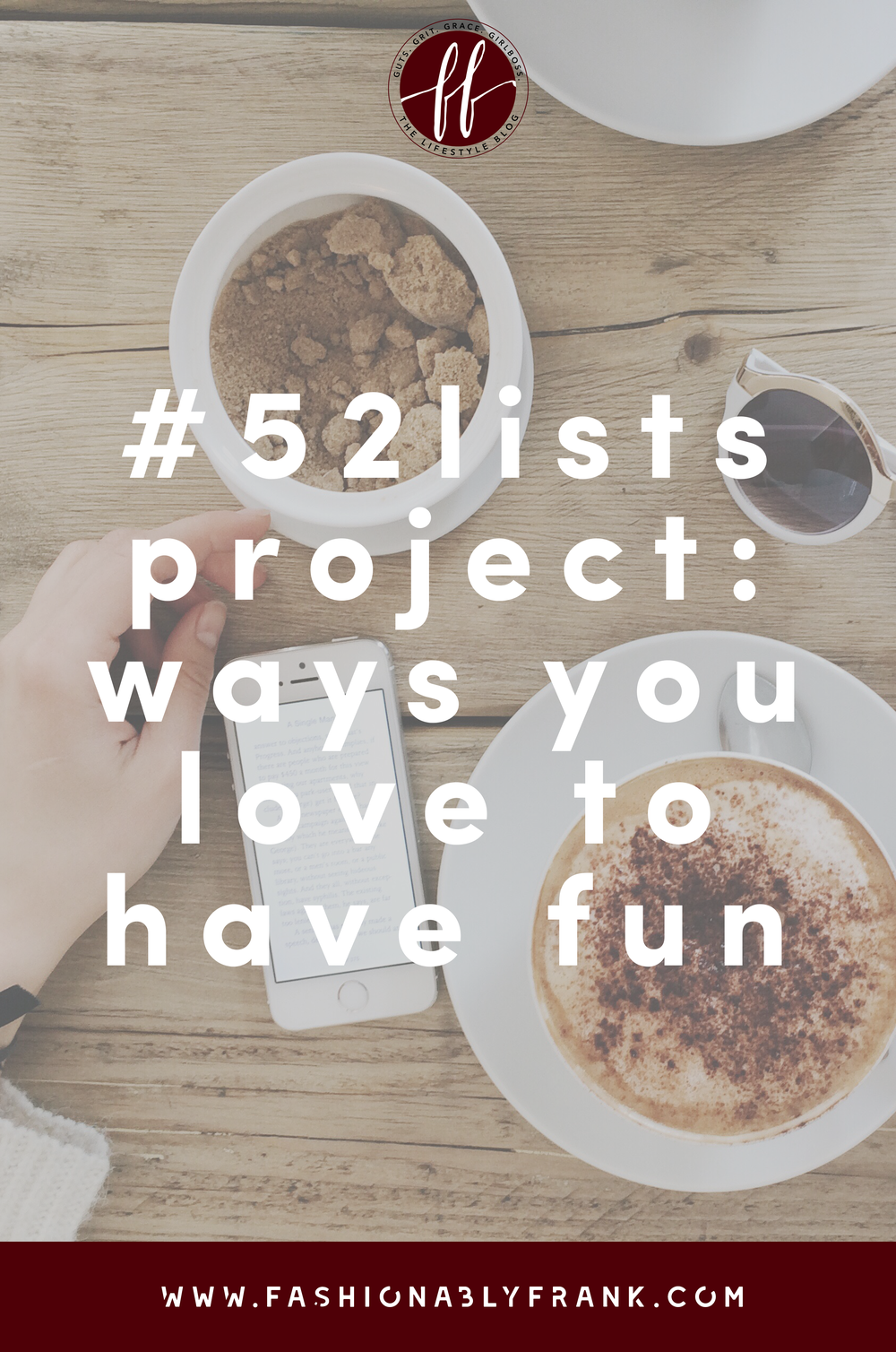 52 Lists Project Ways You Love to Have Fun