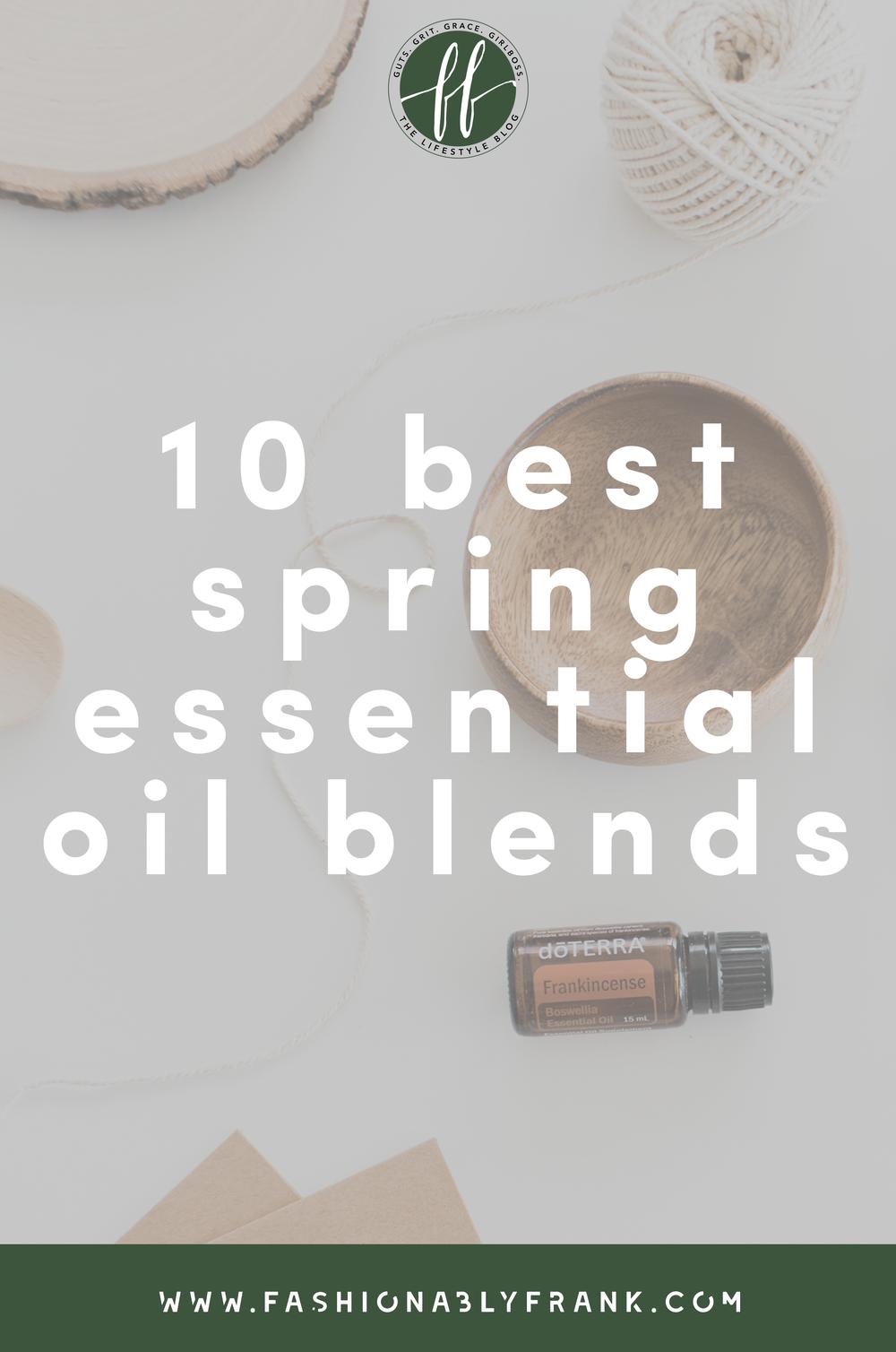 Best Spring Essential Oil Blends