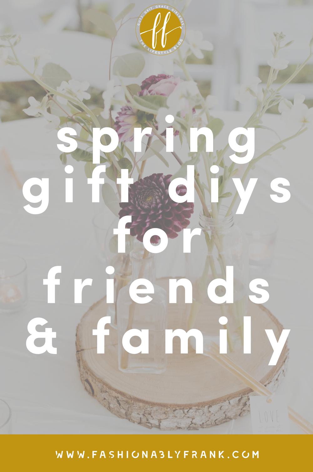 Spring Pinterest Gift DIYs