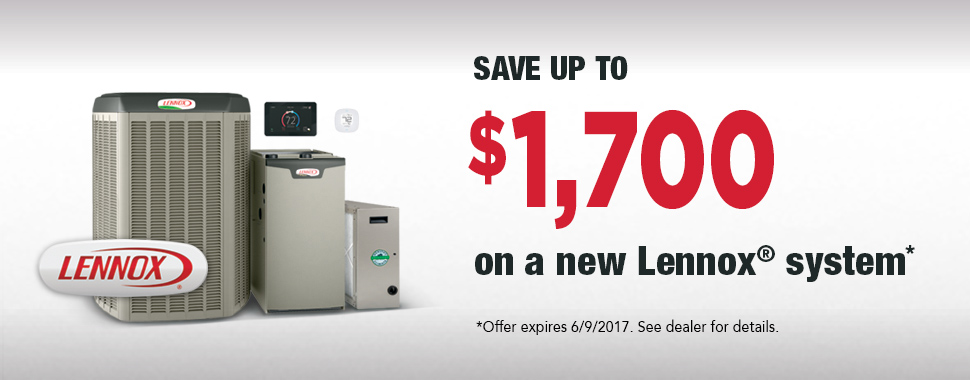 Find out more about our Lennox Spring Promotion! Call us today at (503) 678-2517.