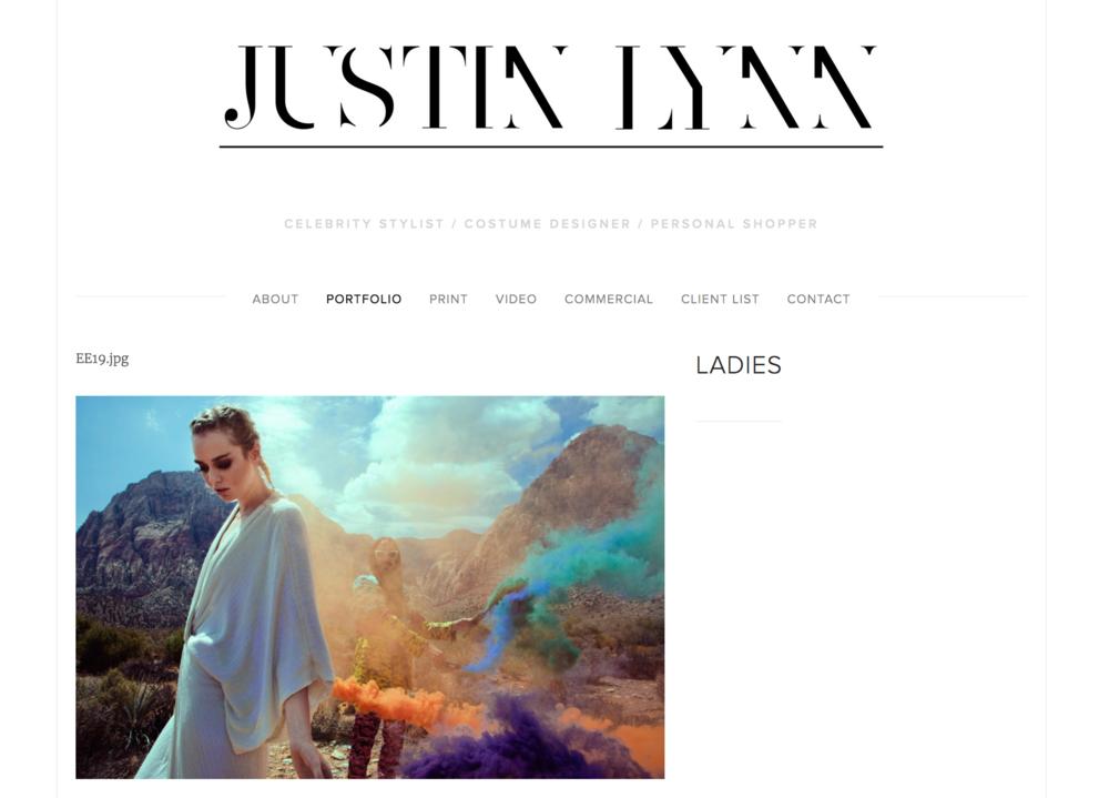 Justin Lynn, Celebrity Stylist
