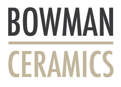 Logo for simple + modern Ceramicist  Bowman Ceramics . Organic, modern, clean just like her signature designs. Graphic Design:  Clarissa Butler