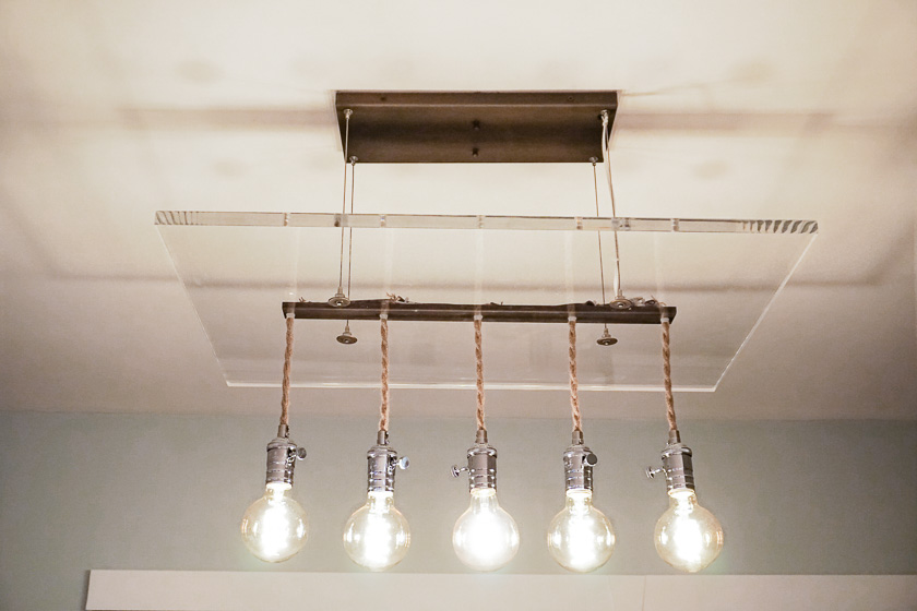 SJP Lighting: Custom Modern Chandelier  -  Bulbs by Indie Republic Design
