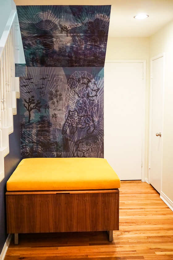 - Begson: Custom Art Wallpaper DesignDogbird Designs: Sitting Box that doubles as storage