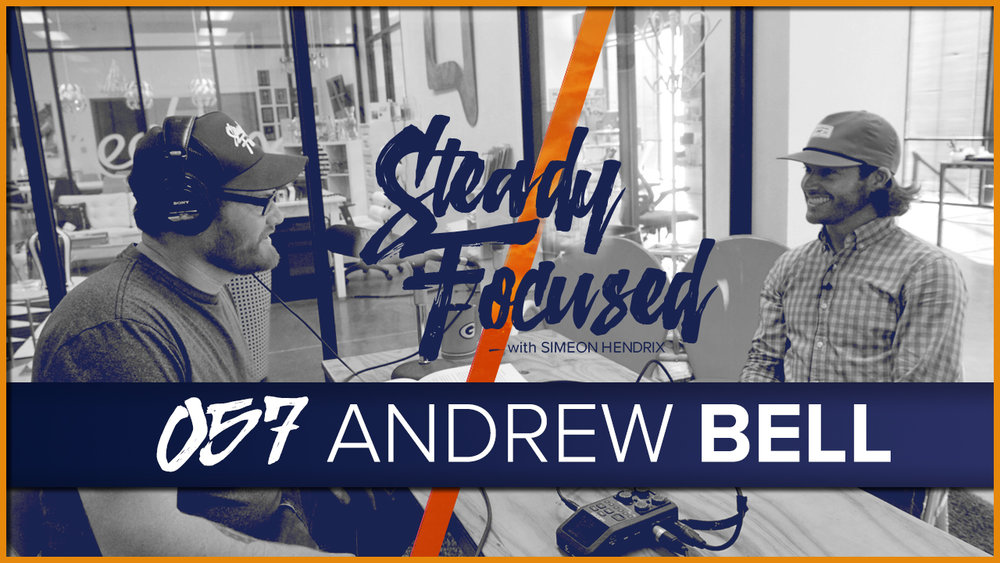Lead designer at Hoegger Communications and the creator of the outdoor / lifestyle brand, AndyB Apparel, Mr. Andrew Bell interviewed on Steady Focused.