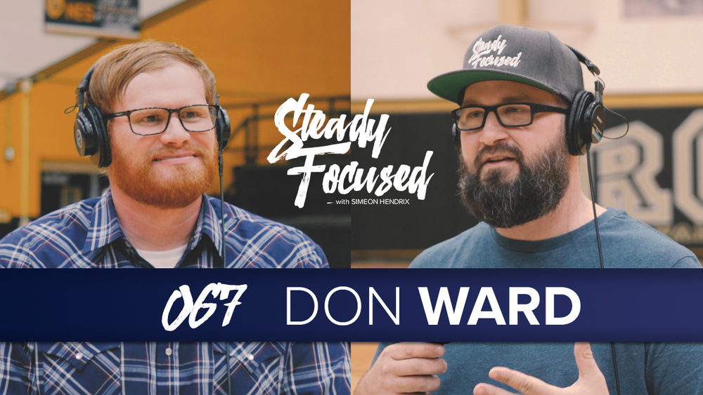 Mr. Don Ward of 3rd Creative comes on Steady Focused to talk about how he became the successful sports team studio photographer he is today.